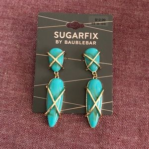 Turquoise Sugarfix by Baublebar earrings